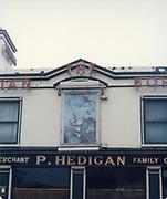 Old amateur photos of Dublin streets churches, cars, lanes, roads, shops schools, hospitals January 1992 P Hedigan, Brian Boru Pub,