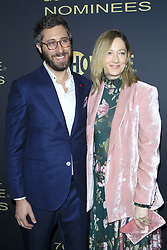 January 5, 2019 - West Hollywood, CA, USA - LOS ANGELES - JAN 5:  Dave Holstein, Judy Greer at the Showtime Golden Globe Nominees Celebration at the Sunset Tower Hotel on January 5, 2019 in West Hollywood, CA (Credit Image: © Kay Blake/ZUMA Wire)