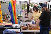 Crafts booth at 2011 Tucson Folk Festival.