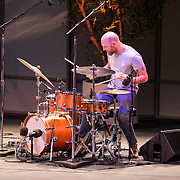 Drummer David King of The Bad Plus performs at Libbey Bowl on June 6, 2013 in Ojai, California.