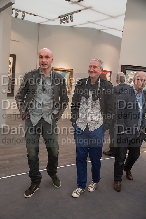 JASON BROOKS; PAUL THOMAS, VIP Opening of Frieze Masters. Regents Park, London. 9 October 2012