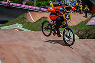 #142 (SMULDERS Merel) NED at the 2016 UCI BMX World Championships in Medellin, Colombia.