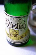 bottle riesling schillie gisie alsace france