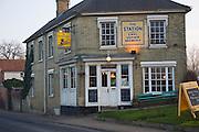 The Station Pub, Earl Soham brewery, Framlingham, Suffolk, England
