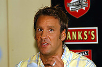 MERSON....PIC TIM EASTHOPE..4..... Pictured is soccer star Paul Merson signing for Walsall from Portsmouth