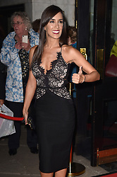Janette Manrara bei der Fire In The Ballroom VIP Opening Night in London / 191016<br /> <br /> <br /> *** Fire In The Ballroom VIP Opening Night in London on October 19, 2016 ***