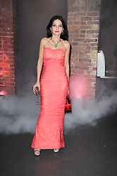 YASMIN MILLS at The Love Ball hosted by Natalia Vodianova and Lucy Yeomans to raise funds for The Naked Heart Foundation held at The Round House, Chalk Farm, London on 23rd February 2010.
