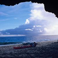 Hawaii, Kauai, Napali, Kalalau Valley Beach, sunrise