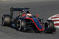 BUTTON jenson (gbr) mclaren honda mp430 action during Formula 1 winter tests 2015 at Barcelona, Spain from February 19th to 22nd. Photo DPPI / Florent Gooden.