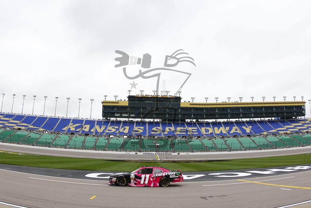 October 21, 2017 - Kansas City, Kansas, USA: Blake Koch (11) brings his car down pit road during qualifying for the Kansas Lottery 300 at Kansas Speedway in Kansas City, Kansas.