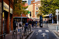 Street scene in the Carmes district of old Toulouse, France<br /> <br /> (c) Andrew Wilson | Edinburgh Elite media
