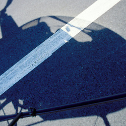 Robinson R22 Helicopter Shadow