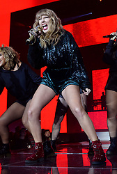 Taylor Swift on stage during day two of Capital's Jingle Bell Ball 2017 with Coca-Cola at the O2 Arena, London.<br />Picture Credit Should Read: Doug Peters/EMPICS Entertainment