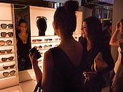 REEM KANJ, Wolf & Badger - pop-up store launch party. Wonder Room, Selfridges, 13 August 2010. -DO NOT ARCHIVE-© Copyright Photograph by Dafydd Jones. 248 Clapham Rd. London SW9 0PZ. Tel 0207 820 0771. www.dafjones.com.