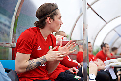 NANNING, CHINA - Saturday, March 24, 2018: Wales' Harry Wilson during a training session at the Guangxi Sports Centre ahead of the 2018 Gree China Cup International Football Championship final match against Uruguay. (Pic by David Rawcliffe/Propaganda)