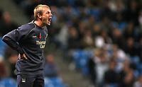 Photo: Paul Thomas.<br /> Manchester City v Middlesbrough. The Barclays Premiership. 30/10/2006.<br /> <br /> Stuart Pearce, City manager.