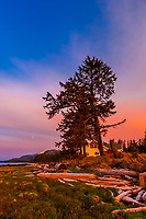 Twilight, Coffman Cove, Prince of Wales Island, Southeast Alaska, USA