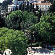 View from Grand Park Hotel in Dubrovnik Croatia