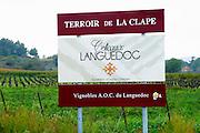 Terroir de la Clape AOC Coteaux du Languedoc. La Clape. Languedoc. France. Europe.