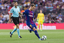 August 20, 2017 - Barcelona, Catalonia, Spain - Ivan Rakitic of FC Barcelona during the match between FC Barcelona vs Real Betis Balompie, for the round 1 of the Liga Santander, played at Camp Nou Stadium on 20th August 2017 in Barcelona, Spain. (Credit Image: © Urbanandsport/NurPhoto via ZUMA Press)