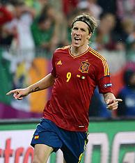 Euro 2012 Spain V Ireland 14-6-12