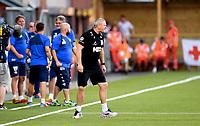 Fotball , 23. august 2015 ,   Eliteserien , Tippeligaen <br /> Strømsgodset - Start 2-1<br /> trener Mons Ivar Mjelde  , Start