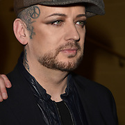London,UK, 26th Feb 2015 : Boy George, attends the Vanity Project for the Prince's Trust at Hotel Cafe Royal in London. Photo by See Li