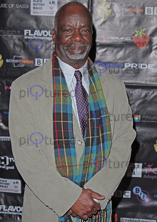LONDON - February 17: Joseph Marcell at the Screen Nation Film & Television Awards (Photo by Brett D. Cove)