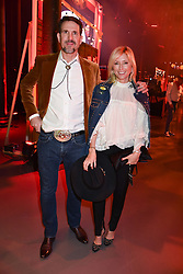 Crown Prince Pavlos Of Greece and Princess Marie-Chantal of Greece at the Save The Children's Night of Country at The Roundhouse, London England. 2 March 2017.