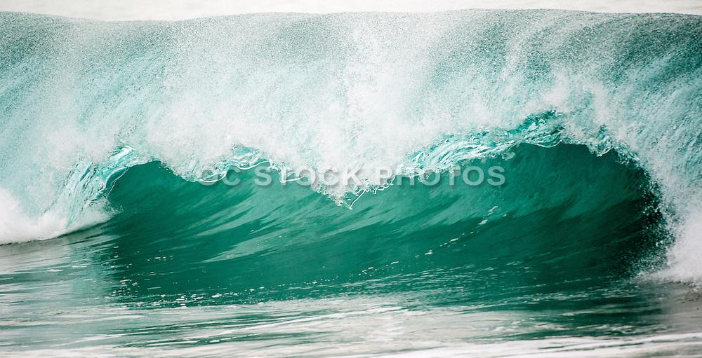 Waves of the Wedge in Newport Beach California