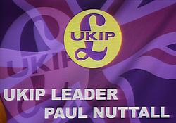 Bekanntgabe des neuen UKIP-Parteivorsitzenden in London / 281116 *** LONDON, UK 28TH NOVEMBER 2016: the Announcement of The New UKIP Leader at The Emmanuel Center, London, England. 28th November 2016.