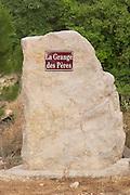 Domaine de la Grange des Peres Vin de Pays de l'Herault. In Aniane. Languedoc. France. Europe.
