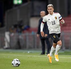 Thorgan Hazard (Belgien) under UEFA Nations League kampen mellem Danmark og Belgien den 5. september 2020 i Parken, København (Foto: Claus Birch).