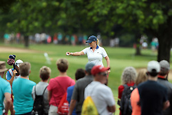 June 16, 2018 - Belmont, Michigan, United States - Cristie Kerr of the United Stated on the 9th green during the third round of the Meijer LPGA Classic golf tournament at Blythefield Country Club in Belmont, MI, USA  Saturday, June 16, 2018. (Credit Image: © Jorge Lemus/NurPhoto via ZUMA Press)