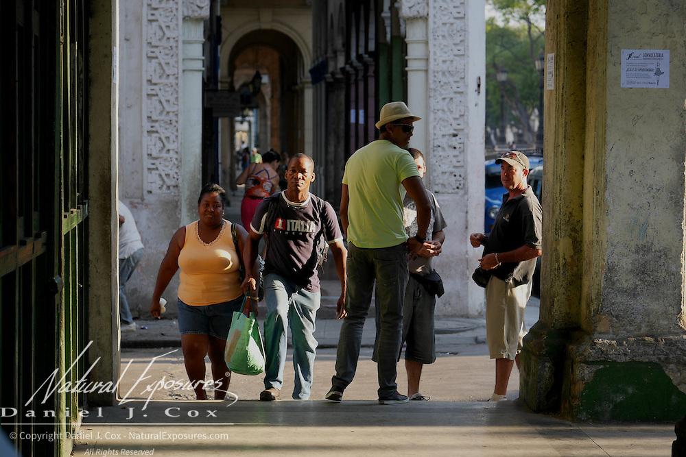 Walking the streets of Havana, Cuba