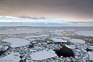 24hr daylight over pack ice near the Ross Ice Shelf