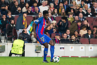 FC Barcelona's Samuel Umiti during Champions League match between Futbol Club Barcelona and VfL Borussia Mönchengladbach  at Camp Nou Stadium in Barcelona , Spain. December 06, 2016. (ALTERPHOTOS/Rodrigo Jimenez)