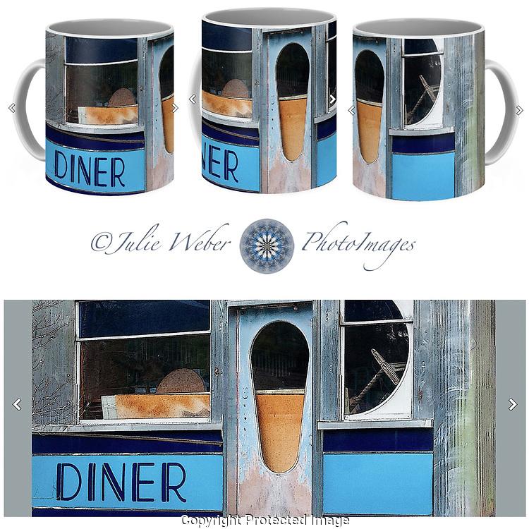 Coffee Mug Showcase 6 - Shop here: https://2-julie-weber.pixels.com/products/diner-shapes-detail-4-julie-weber-coffee-mug.html