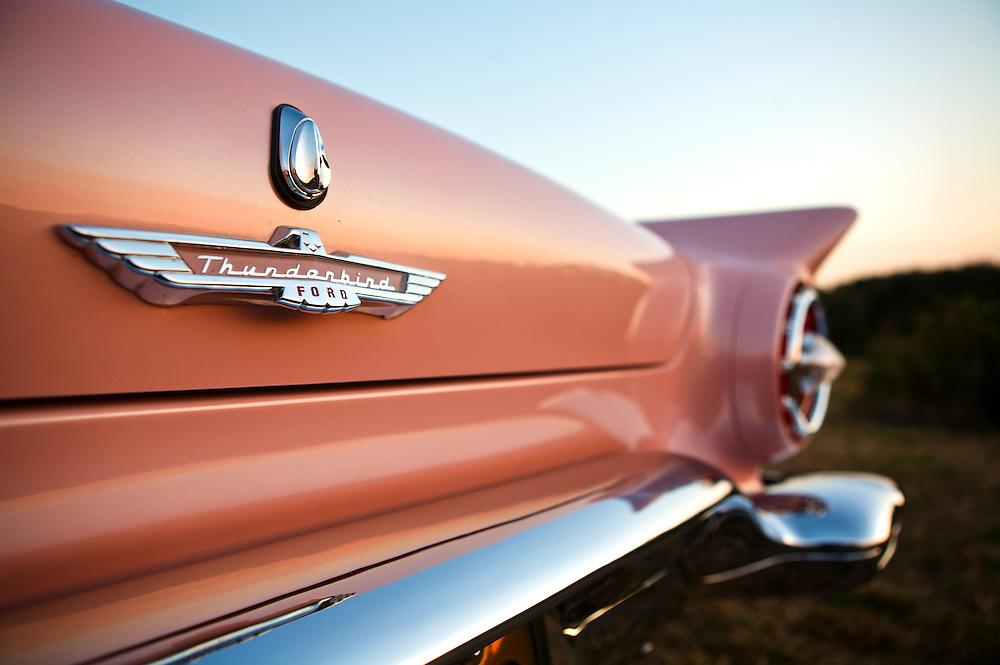 1957 Ford Thunderbird - Dusk Rose