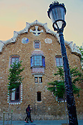 Barcelona, Spain, Park Guell, Designed by Antoni Gaudi