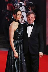 Star Wars The Last Jedi European Premiere, Royal Albert Hall, London, UK<br /><br />12 December 2017.<br /><br />Please byline: Vantagenews.com
