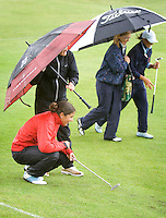Biddinghuizen - Marjet van der Graaf  Voorjaarswedstrijd dames 2007 op Golfbaan Dorhout Mees. . COPYRIGHT KOEN SUYK