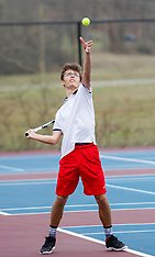 03/29/18 HS Tennis Bridgeport vs. Liberty