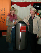 Author Kate Mosse at the launch of the Orange Labyrinth interactive 3D website for readers and writers at the Edinburgh International Book Festival.