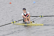 Eton, United Kingdom.    GBR  W1X, Beth RODFORD Third in the Women's single Sculls, final, at the 2012 GB Rowing Trials, Dorney Lake. Near Windsor Berks Sunday  11/03/2012  [Mandatory Credit; Peter Spurrier/Intersport-images]
