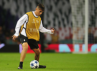 Paulo Dybala of Juventus<br /> <br /> Photographer Kevin Barnes/CameraSport<br /> <br /> UEFA Champions League Final - Training session - Juventus v Real Madrid - Friday 2nd June 2017 - Principality Stadium - Cardiff<br />  <br /> World Copyright © 2017 CameraSport. All rights reserved. 43 Linden Ave. Countesthorpe. Leicester. England. LE8 5PG - Tel: +44 (0) 116 277 4147 - admin@camerasport.com - www.camerasport.com