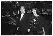 Conrad Black and Barbara Amiel, Kissinger party. Manhattan. 1993.