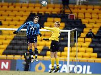 Fotball , 27. mars 2006 , Semifinale Royal Leauge ,  Lillestrøm - Djurgården , <br /> Tobias Hysen  , Djurgården og Anders Rambekk , Lillestrøm