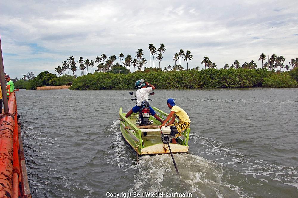 Ferryboat Crossing in Alagoas