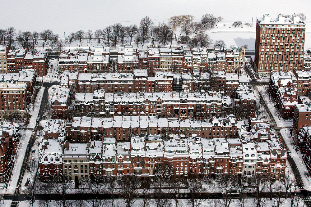 City of Boston after Winter Storm Juno.
